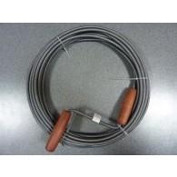 Spirala kanalizacyjna FI 9 10m czarna