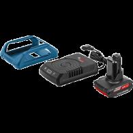 Bosch zestaw GBA 12V 2,5Ah WLC + ładowarka GAL 1830 W 1600A00J0F