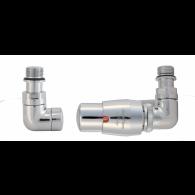 VARIO TERM Zestaw grzejnikowy termostatyczny VISION CHROM lewy VIGS0202CFK/L