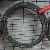 Spirala kanalizacyjna czarna 12mm 10m