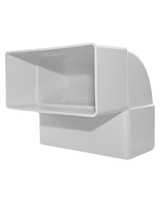 Dospel łącznik kolano pionowe płaskie D/KPI 110x55 007-0222