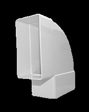 Dospel łącznik kolano płaskie poziome D/KPO 110x55 007-0225