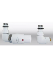 Vario Term zestaw termostatyczny Vision grzejnikowy lewy biały VIGS0206CFK/L