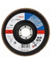 Bosch listkowa tarcza szlifierska X431 G40 Standard for Metal 125x22,23mm 2608603656