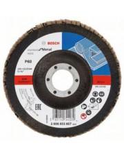 Bosch listkowa tarcza szlifierska X431 G60 Standard for Metal 125x22,23mm 2608603657