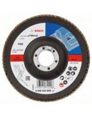 Bosch listkowa tarcza szlifierska X431 G80 Standard for Metal 125x22,23mm 2608603658