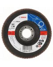 Bosch listkowa tarcza szlifierska wygięta X551 G60 Expert for Metal 125x22,23mm 2608606717