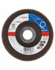 Bosch listkowa tarcza szlifierska wygięta X551 G80 Expert for Metal 125x22,23mm 2608606718