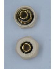 Vario Term złączka zaciskowa Pex 16x2 x M22x1,5 biała M766B002006