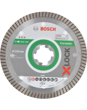 Bosch tarcza diamentowa Best for Ceramic Extraclean Turbo z systemem X-LOCK 2608615132