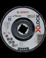 Bosch tarcza tnąca Expert for Metal do szlifowania obniżonego z systemem X-LOCK 2608619259
