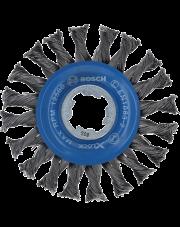 Bosch szczotka tarczowa z drutu plecionego z systemem X-LOCK 2608620731