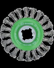 Bosch szczotka tarczowa z drutu plecionego z systemem X-LOCK 2608620733