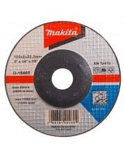 Makita tarcza szlifierska do metalu 125x6mm A24R D-18465