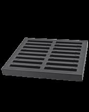 ZMM Maxpol krata PVC 300x300mm A15 grafit 01783