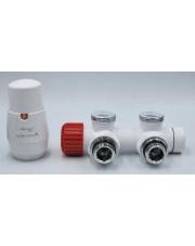 Vario Term zestaw termostatyczny Twins lewy biały TSGS0206CFK/L