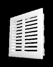 Dospel kratka wentylacyjna z żaluzją biała D/TKZ 140x210mm 007-1651