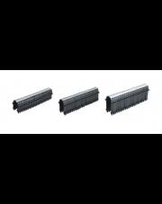 Capricorn spinki pakietowane do takera 50mm czarne 9-2011-050-66-01-10