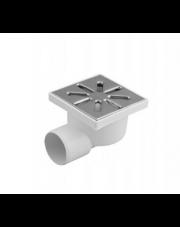 Kratka ściekowa 50mm boczna lub dolna 10x10 ruszt metalowy
