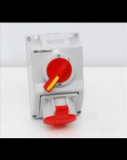 Elektromet zestaw instalacyjny z gniazdem 0-1 32A/4p/400V IP54 C32-18 974001
