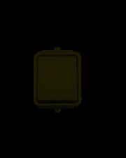 Łącznik 1-biegunowy biały WNT100C01