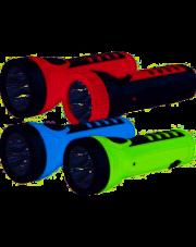 Tiross latarka akumulatorowa z ładowarką 4xLED TS-1166 zielona