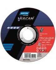 Norton tarcza tnąca Vulcan A46T-BF41 Inox 115x1,6x22,2mm 66252833401
