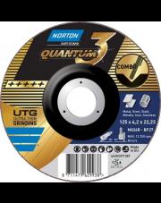 Norton tarcza tnąca Quantum3 NQ24R-BF27 125x4,2x22,23mm 66253371357