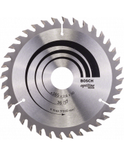 Bosch tarcza pilarska Optiline Wood 165x30x2,6mm 2608640603