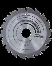 Bosch tarcza pilarska Speedline Wood 165x30x2,2mm 2608640789