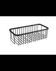 Stella koszyk łazienkowy czarny mat 16.014-B