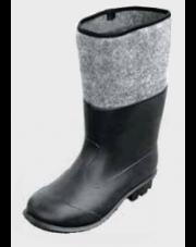 Best buty gumowo-filcowe PVC rozmiar 44