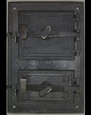 Drzwiczki piecowe hermetyczne 490x330mm