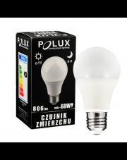 Polux żarówka LED E27 806lm 10W 3000K z czujnikiem zmierzchu