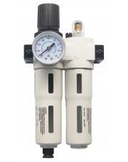 Adler reduktor z filtrem i naolejaczem Industrial AD-FRL 1/4
