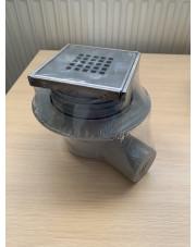 Rawiplast odwodnienie 50mm ruszt Cubo odpływ poziomy