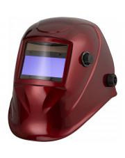Badek przyłbica spawalnicza automatyczna czerwona APS-510G RED