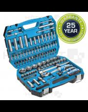 Hogert zestaw narzędziowy 144-elementowy HT1R440