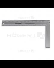Hogert kątownik stolarski aluminiowy 300x190mm HT4M203