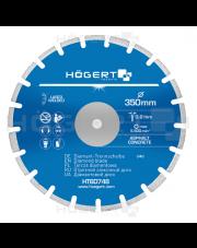 Hogert tarcza diamentowa Asphalt Concrete 350mm HT6D748