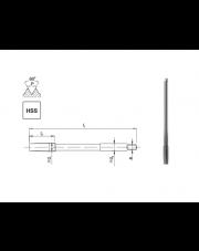 Fanar gwintownik maszynowy metryczny HSS NGMf M20 F1-151001-0200