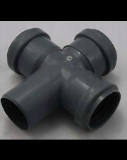 Czwórnik kanalizacyjny 110/110/110mm 90 stopni