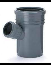 Trójnik kanalizacyjny 110/75mm 67 stopni