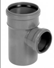 Trójnik kanalizacyjny 110/75mm 90 stopni