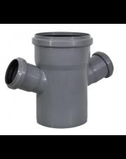 Czwórnik kanalizacyjny 110/50/50mm 67 stopni