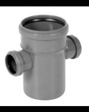 Czwórnik kanalizacyjny 110/50/50mm 90 stopni