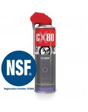 CX80 silikon do tworzyw sztucznych i gumy duospray 500ml 237
