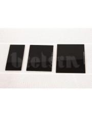Bielsin szkło ochronne czarne 90x110mm DIN12 356/A-G