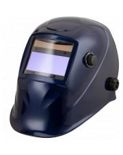 Badek przyłbica spawalnicza automatyczna niebieska APS-510G BLUE