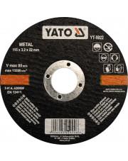 Yato tarcza do cięcia metalu 125x1,2x22mm YT-5923